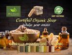Certified Organic Sheer Organix Rejuvenative Herbal Soap Handmade in the USA, 4 oz.