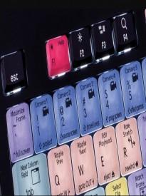LogicKeyboard Adobe Premiere Pro CC For Apple MAC Astra USB Wired Keyboard Part# LK-LKBU-PPROCC-AMBH