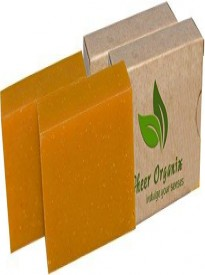 Certified Organic Sheer Organix Rejuvenative Herbal Soap Handmade in the USA, 4 oz.  113g - 2 pack