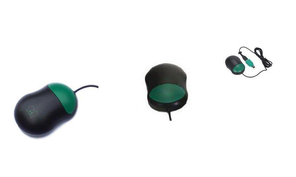 Chester Creek Ctmo Computer Mouse Optical Usb Ps/2 Green One Button Wired 800 Dpi