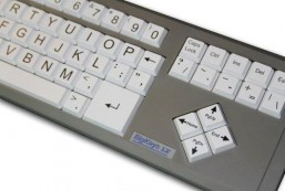 AbleNet BigKeys ABC LX Large Print Computer Keyboard USB Wired