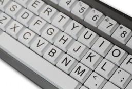 AbleNet BigKeys ABC LX Large Print Computer Keyboard USB Wired