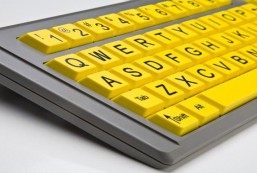 AbleNet BigKeys LX QWERTY Keyboard USB Wired