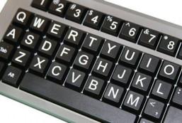 AbleNet BigKeys LX Large Print Computer Keyboard USB Wired