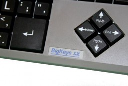 AbleNet BigKeys LX Large Print Computer Keyboard USB Wired (BKLXBQ) 12000007