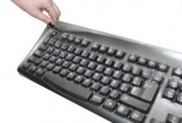Biosafe Anti Microbial Keyboard Cover