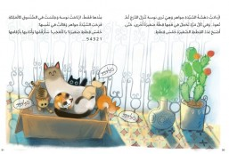 Arabic children humorous story book