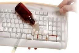 Anti Microbial Keyboard Cover VisiKey Keyboard