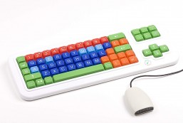Clevy Color Coded Bluetooth Wireless Keyboard