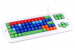 Clevy Color Coded Croatian Computer Keyboard