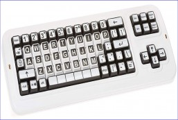 Clevy Color Coded US Computer Keyboard