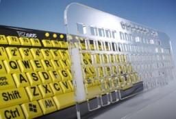 Transparent Sturdy Acrylic Keyguard