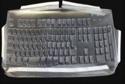 Keyboard Cover for Japanese Solidtek Simply Plugo (SimplyPlugo ACK-260 and 250) Keyboards