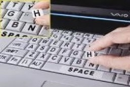 Keyboard Skins stickers labels overlay