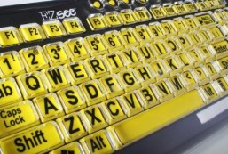 Custom Made for Large Print Keyboards