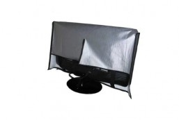 Large Flat Screen Tv-Vinyl Padded Dust Cover
