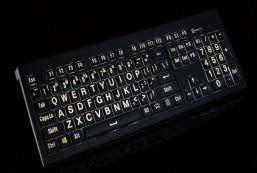 Largeprint PC Backlit Astra Keyboard