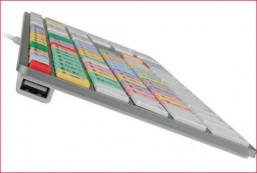 Apple MAC USB Wired Ultra-Thin Aluminum Keyboard