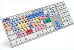 Ultra Thin Shortcut Keyboard for Avid Media Composer