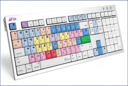 Logickeyboard LKBU-MCOM4-CWMU-US, AVID Media Composer Mac ALBA Keyboard