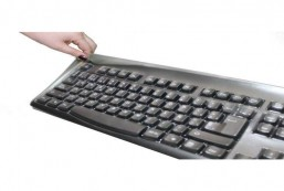Custom Made Transparent Protection Keyboard Cover ONLY for Logitech Keyboard