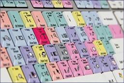 CC Slim Line PC Keyboard Shortcut Keyboard for Adobe Illustrator CC