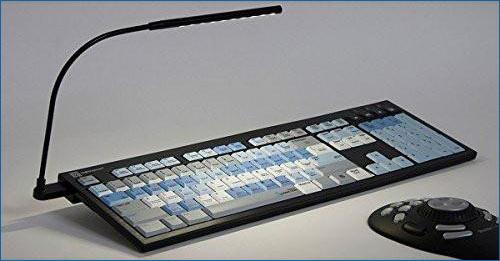 Logickeyboard Autodesk Smoke Nero Slim Line Linux Keyboard