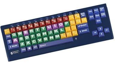 Big BluTM Bluetooth KinderBoard Large Key Print Computer Keyboard