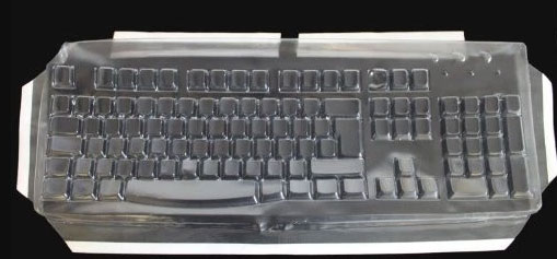 Logitech Biosafe Anti Microbial Custom Made Transparent Keyboard Cover