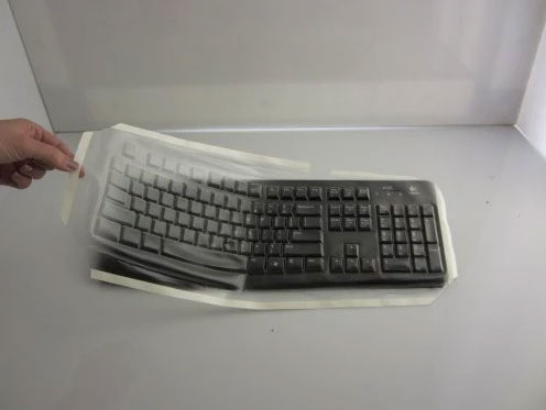 Biosafe Anti Microbial keyboard covers - fitting Logitech - Viziflex