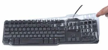 Dell Keyboard Covers Help protect from harmful germs