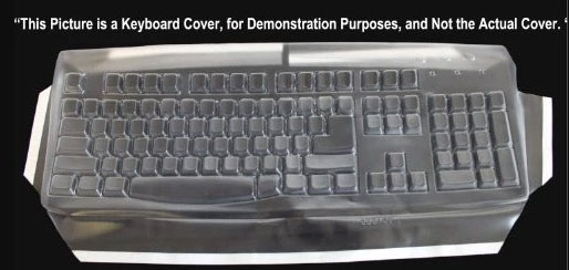 Dell Keyboard Cover protecting your keyboard while you type
