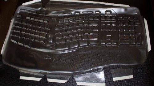 USA Custom Made Keyboard cover,Keyboard-Mouse Combo-Prevent Bacteria