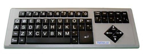 QWERTY AbleNet Computer BigKeys LX Keyboard,USB Wired Large Print