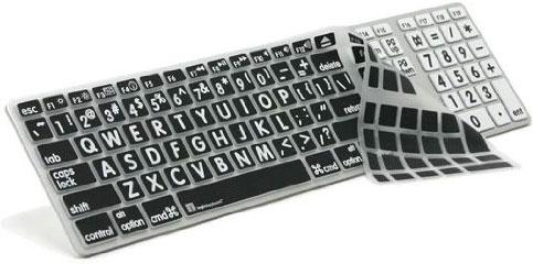 Apple Ultra Thin US LogicKeyboard LogicSkin Large Print Keyboard Cover