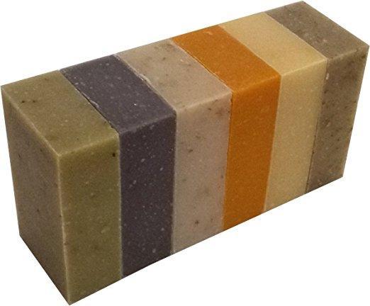 Certified Organic Sheer Organix Rejuvenative Herbal Soap Handmade in the USA, 4 oz. / 113g - 6 Pack