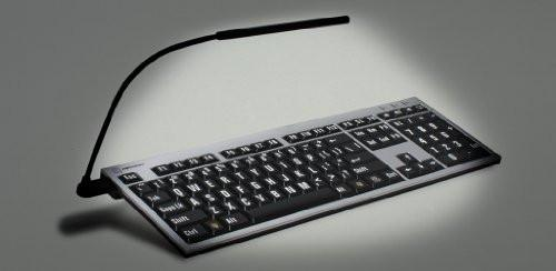 LogicKeyboard XL Print NERO PC Slim Line  For The Visually Impaired