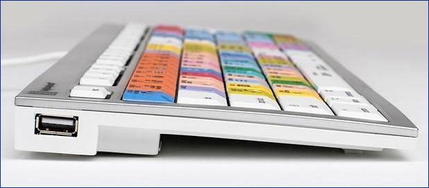 ALBA, Logickeyboard's dedicated Apple® shortcut keyboard