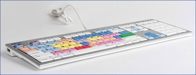 ALBA, Logickeyboard, Apple® shortcut keyboard, Mac ALBA Keyboard
