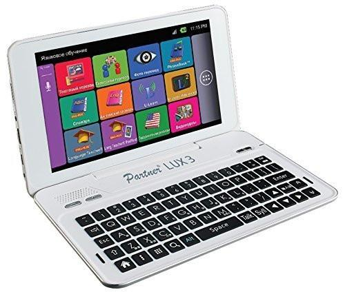Partner Lux 3 19 Languages Electronic Dictionary and Free Speech Translator with Language Teacher