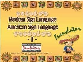 Mexican Sign Language , Lenguaje de señas mexicano , American Sign Language,  Translator Dictionary