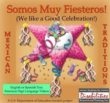 MSL Mexican Sign Language Somos Muy Fiesteros Hispanic Stories of Celebration
