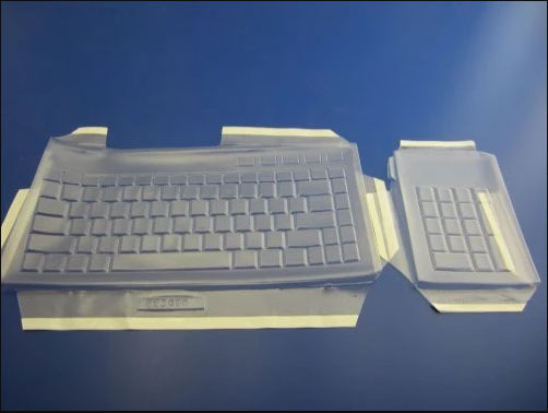 Biosafe Anti Microbial Keyboard cover fitting Kensington Slimblade