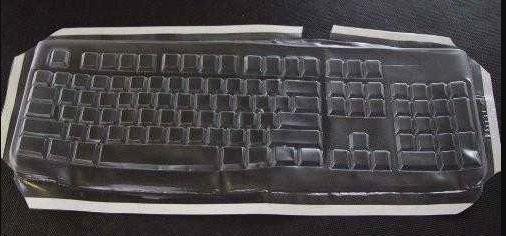 Viziflex Seels Inc Logitech K120 Keyboard Cover 483G104