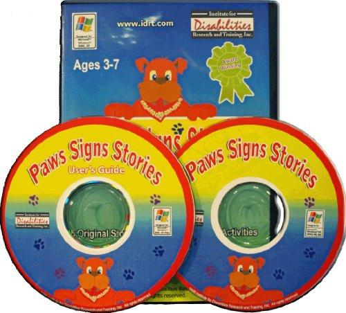 Paws Signs Stories (American Sign Language - Accessible Product)