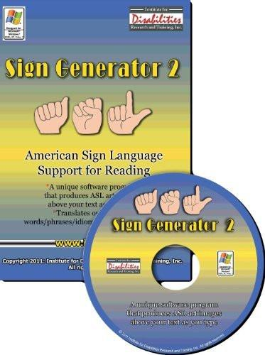 Russian Sign Language & American Sign Language Bidirectional Translator Software for Windows Only