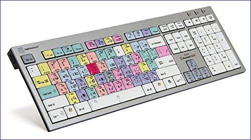 Logickeyboard Adobe Illustrator CC - Slim Line PC  Shortcut Keyboard