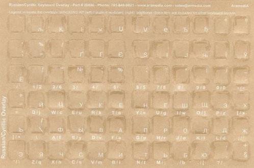 Ukrainian language bilanguage Keyboard Stickers, bilingual Labels
