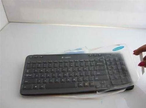 Viziflex Biosafe Anti Microbial Keyboard cover fitting Logitech