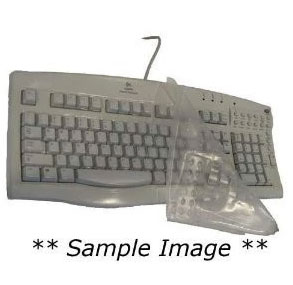 Viziflex's Biosafe Anti Microbial Keyboard cover fitting Microsoft